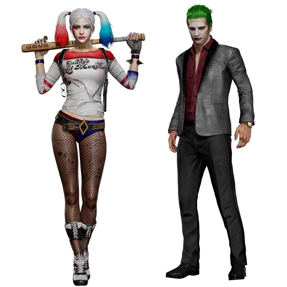 Harley Quinn y Joker en PUBG-GamersRd
