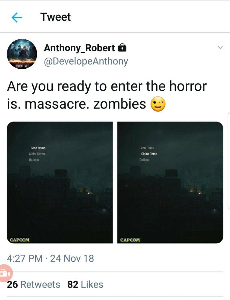 demo de Resident Evil 2 Remake -GamersRD