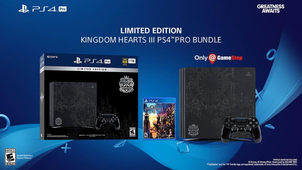 PS4 Pro de Kingdom Hearts 3 -GamersRD