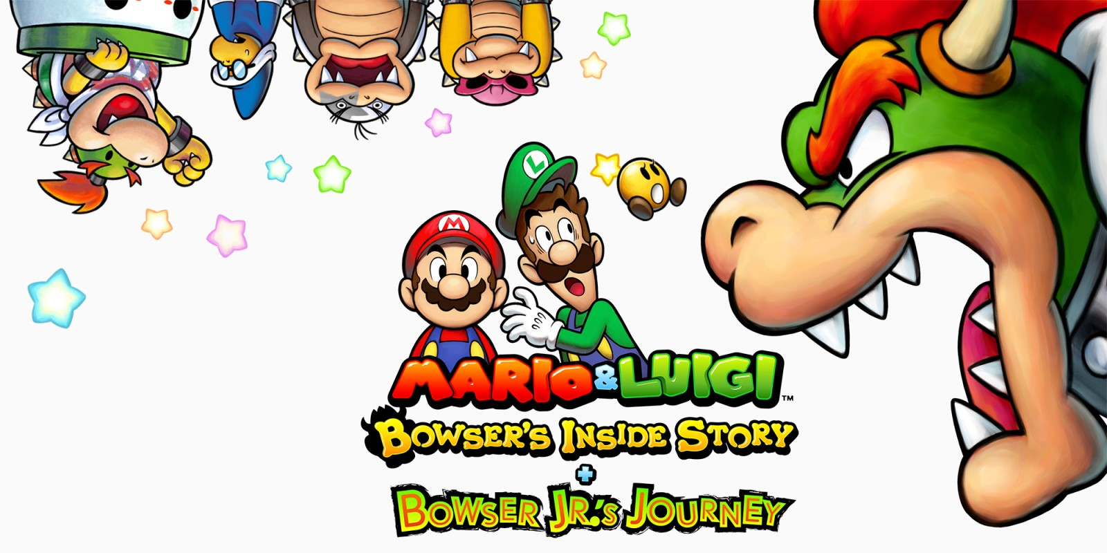 Mario & Luigi Bowser's Inside Story + Bowser Jrs Journey, Nintendo, 3DS, GamersRD