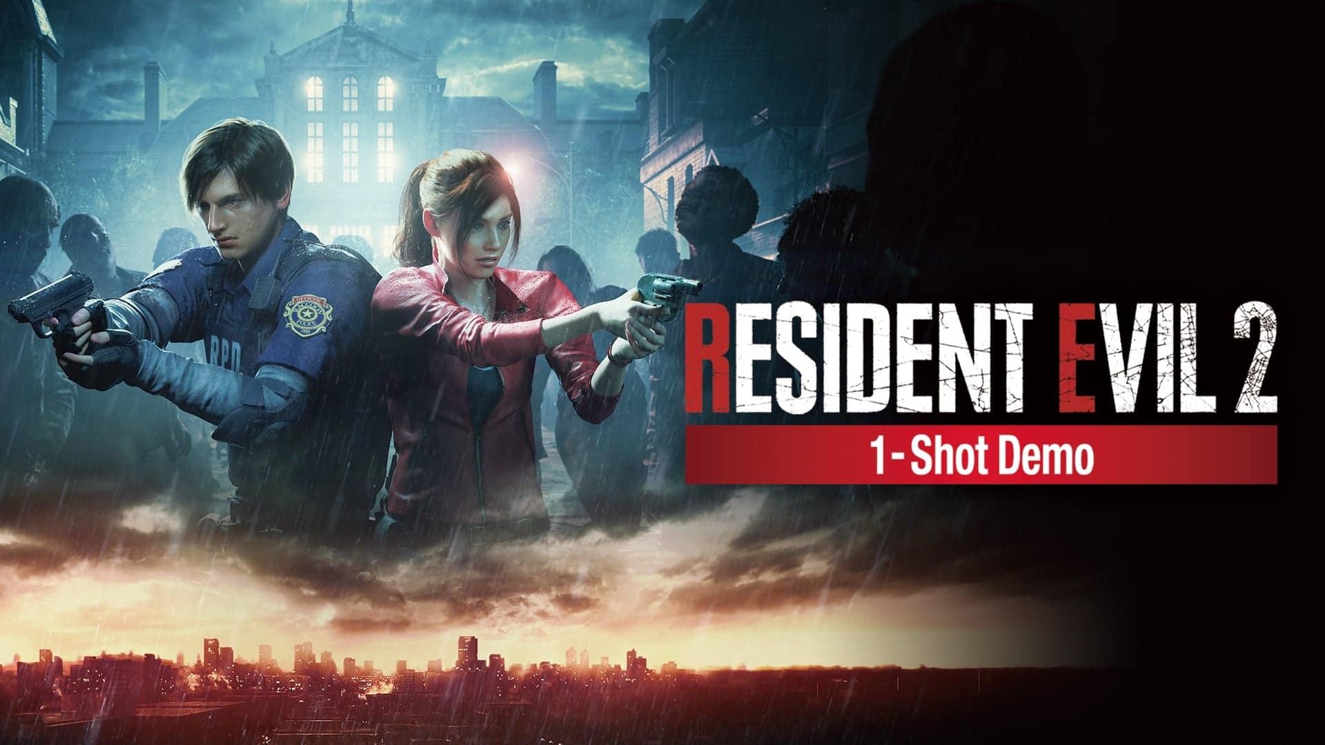 Resident Evil 2, 1-Shot Demo, capcom, raccoon city, GamersRD