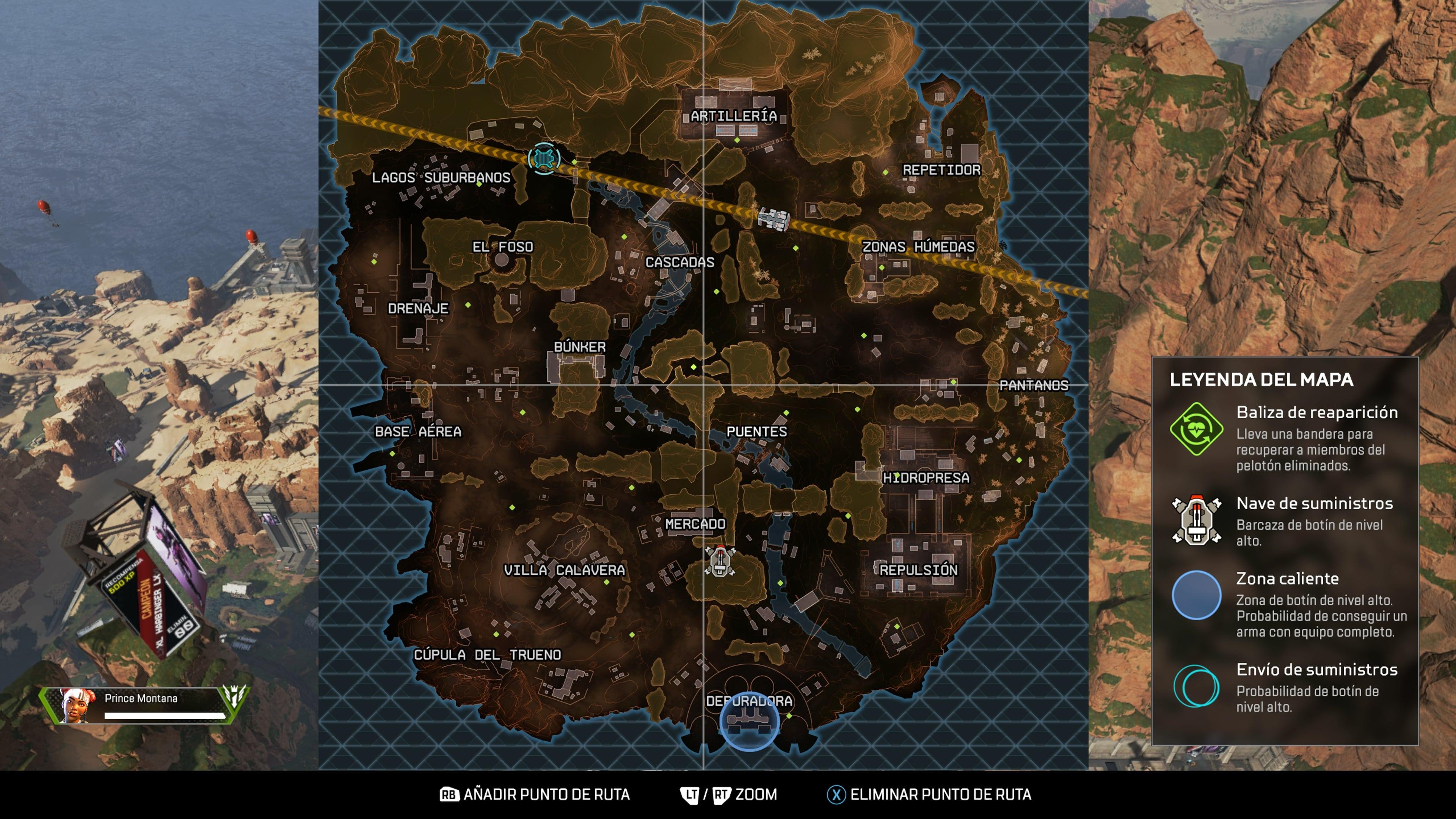 Apex Legends-Mapa