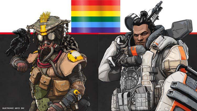 Gibraltar, Bloodhound, Apex Legends, EA, Respawn, Gay, LGBTQ , GamersRD