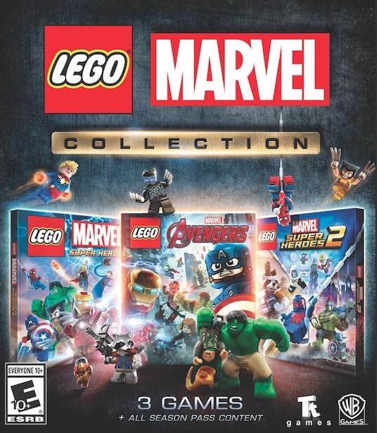 LEGO, MARVEL COLLECTION, WARNER, TT GAMES, art,GAMERSRD