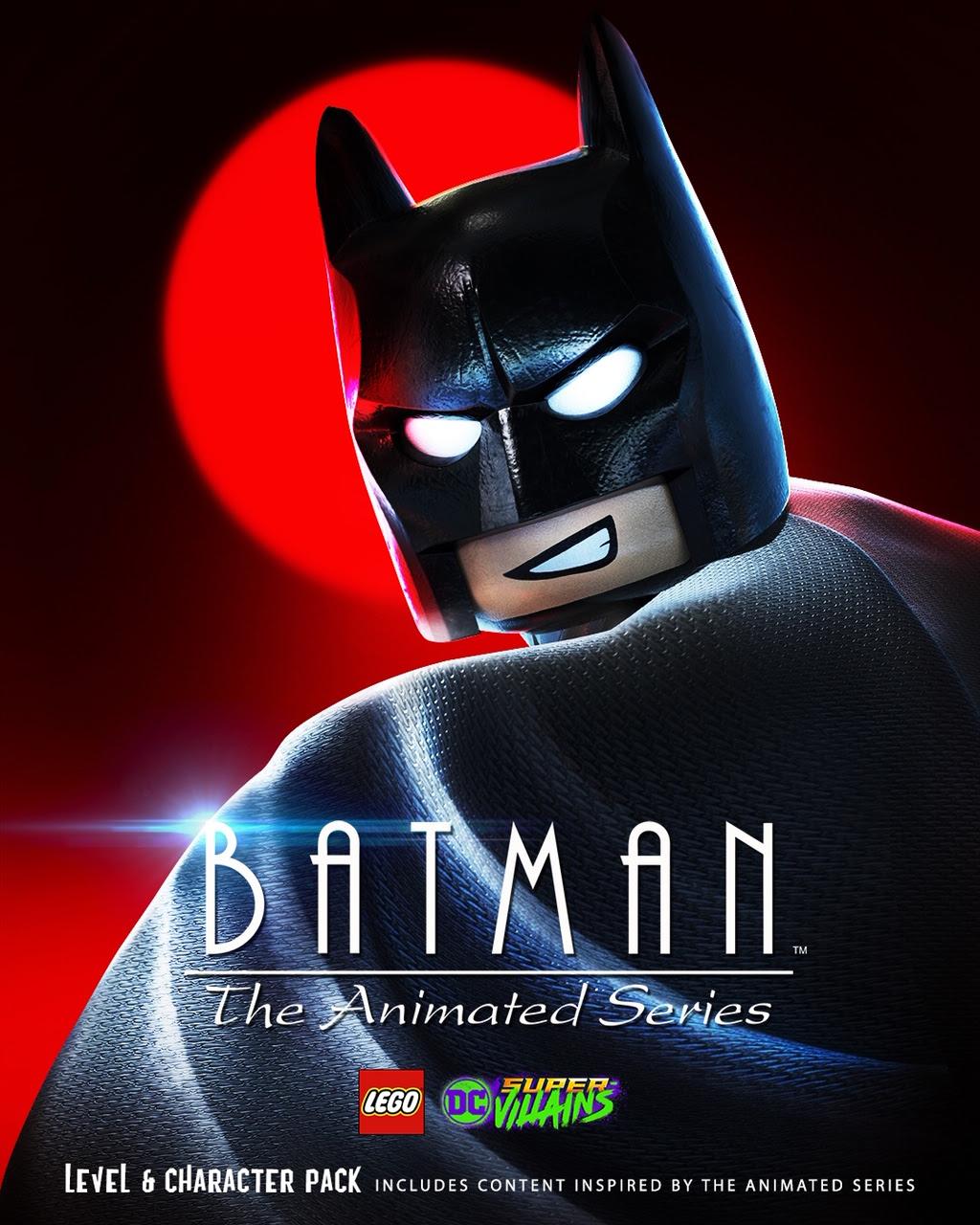 LEGO DC Super-Villains lanza el paquete de nivel de Batman The Animated Series, GamersrD