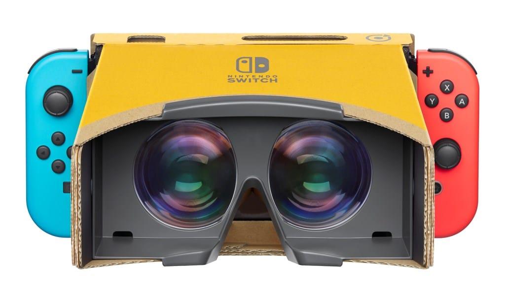 Nintendo Labo VR Kit, nintendo Switch, Nintendo, VR, GamersRD