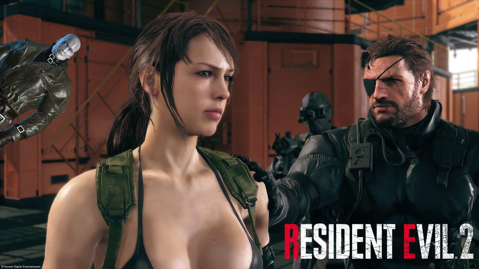 Un Nuevo Mod En Resident Evil 2 Reemplaza A Claire Leon