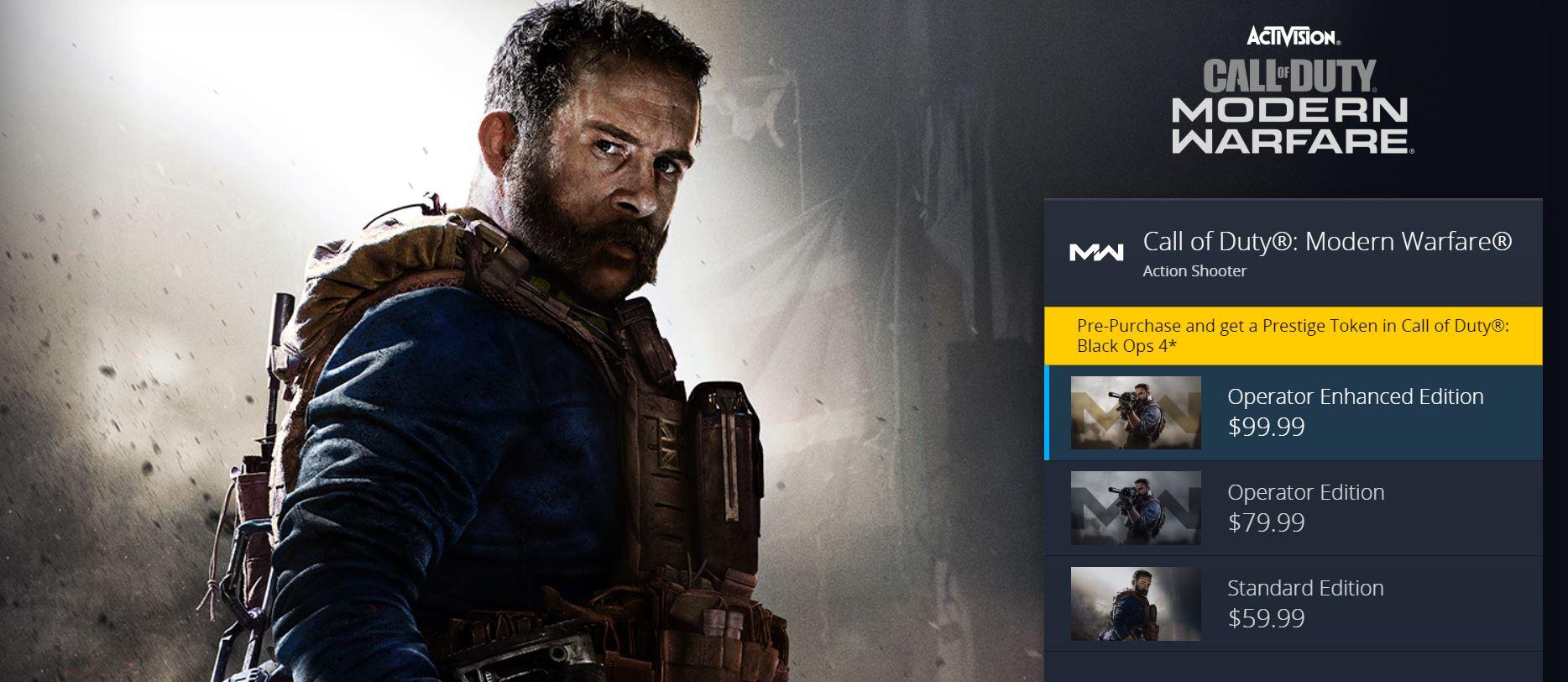 Call of Duty, Modern warfare, Blizzard, Battle net,GamersRD