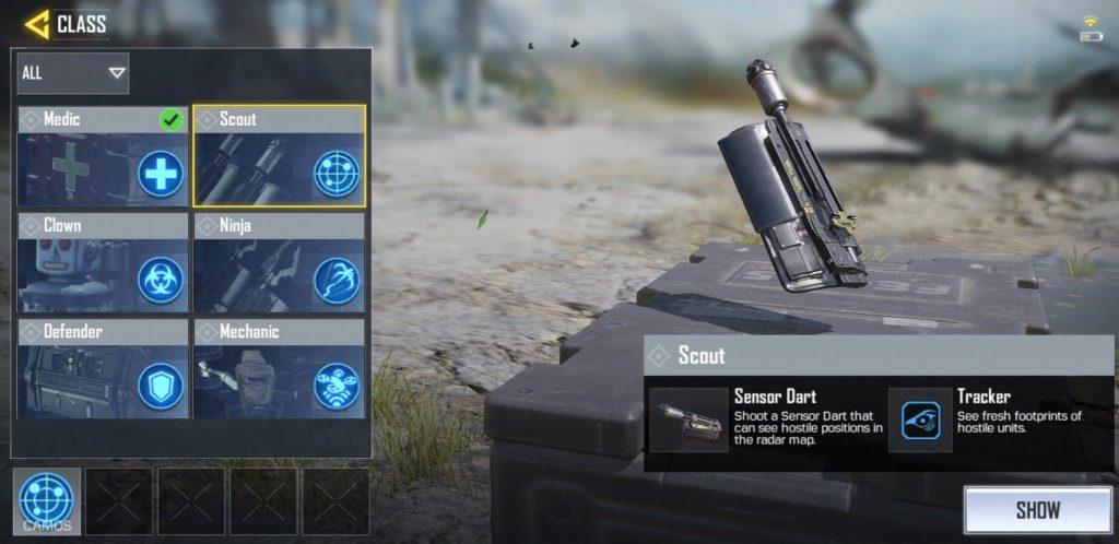 Scout Sensor Dart, Tracker, Call of Duty Mobile, Activision, GamersRD