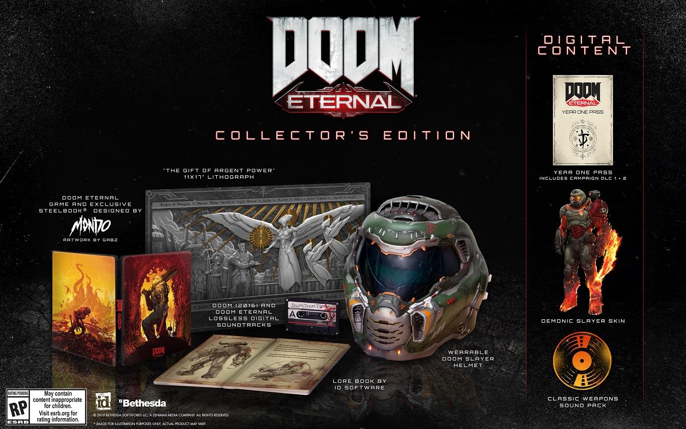 The Doom Eternal Collector's Edition , Bethesda GamersRD