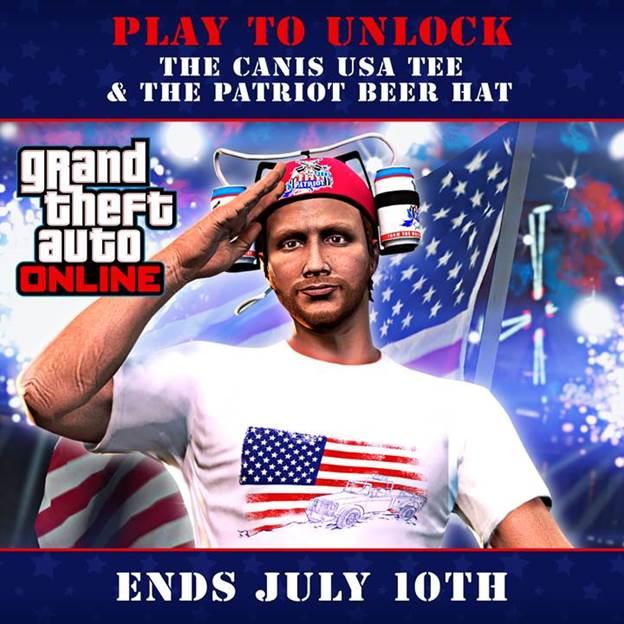 4 de julio en GTA Online, 1,GamerSRD