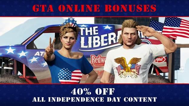 4 de julio en GTA Online, GamerSRD