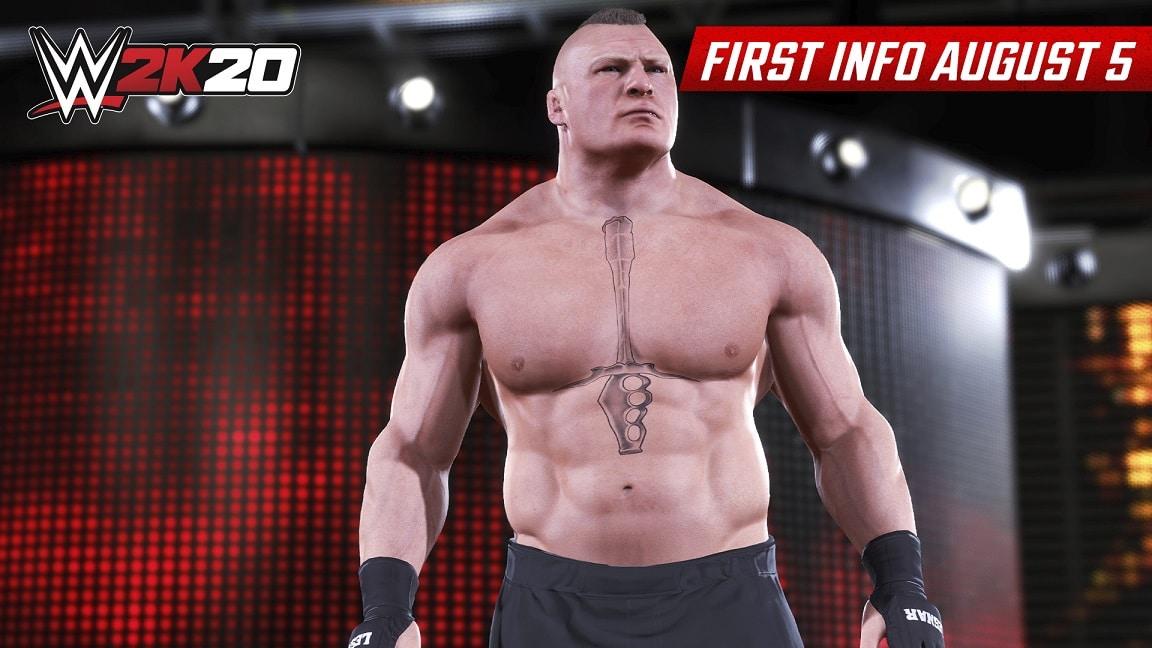 WWE 2K20 Brock Lesnar , 2K Games ,GamersRD