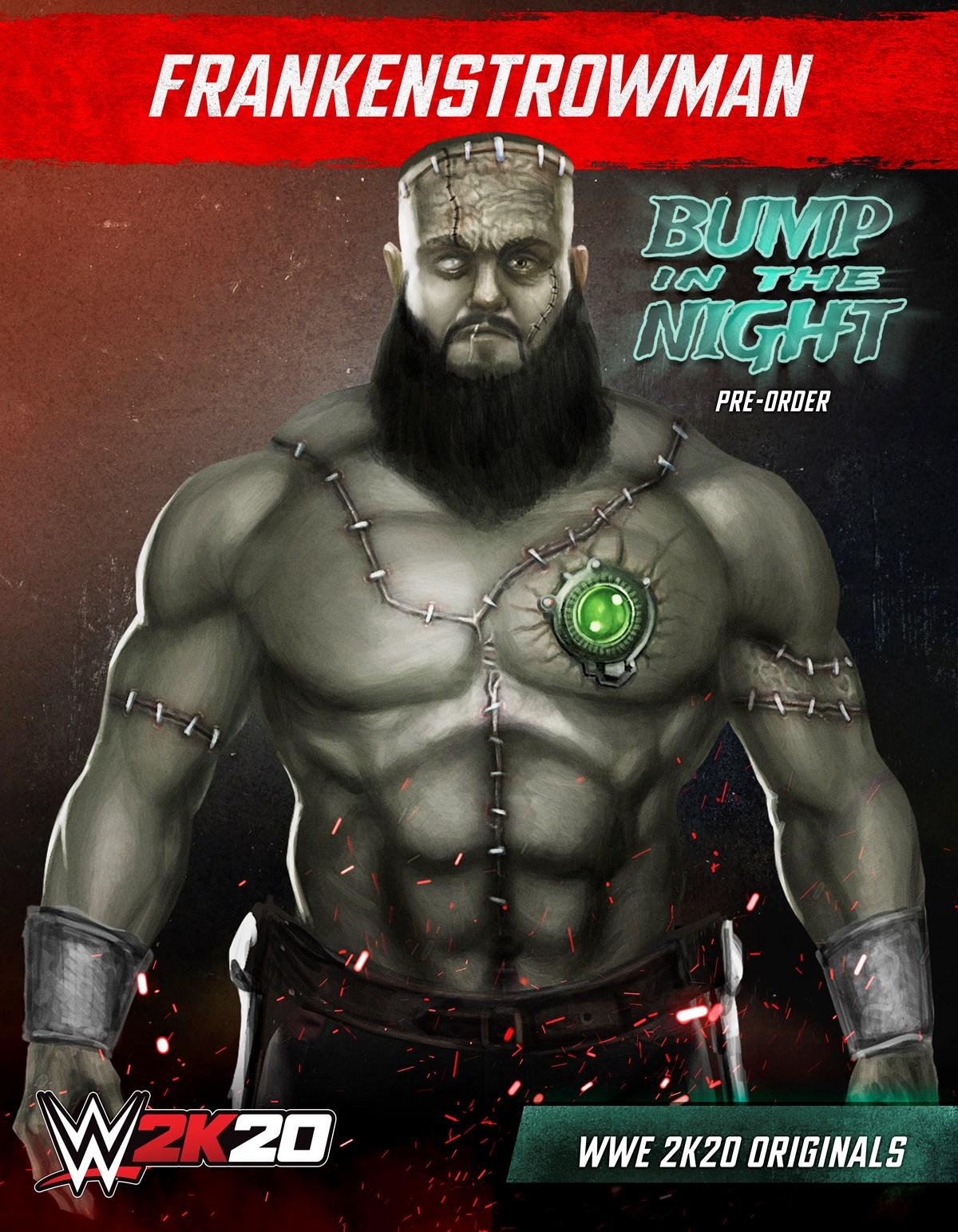 The Fiend, Bray Wyatt Headlines First WWE 2K20 Originals Pack, Braun Strowman, GamersRD