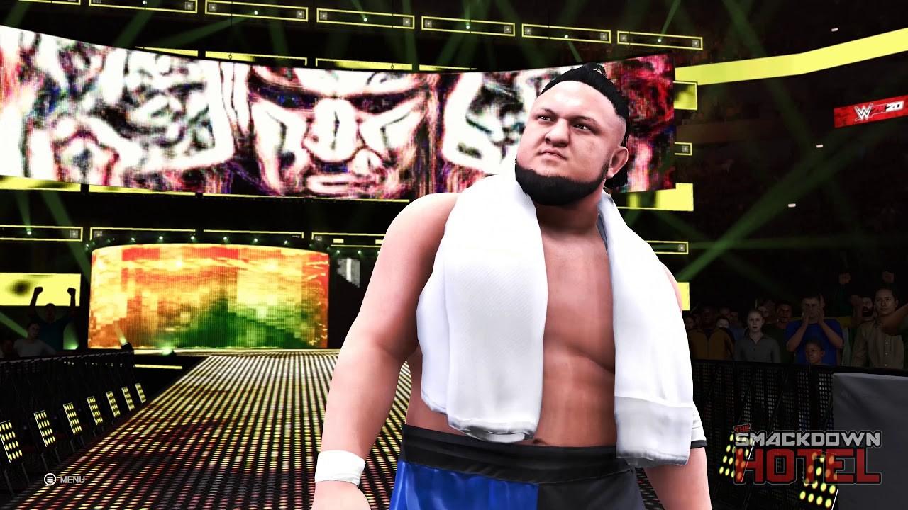 WWE 2K20 ,Samoa Joe, GamersrD
