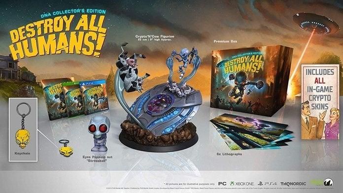 Destroy All Humans tendrá dos ediciones especiales muy caras