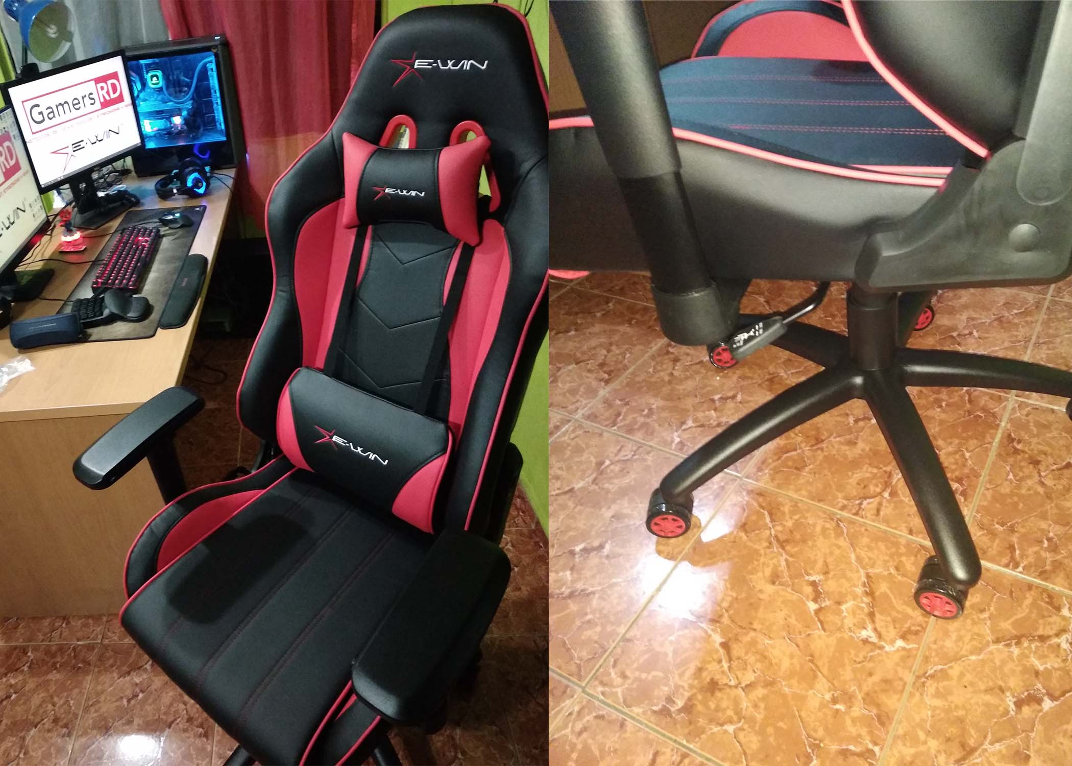 E-Win Racing Champions Series CPA Review, Chair,GamersRD