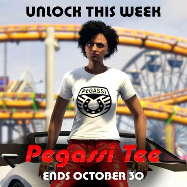 GTA online, Camisa de Pegassi, GamersRD