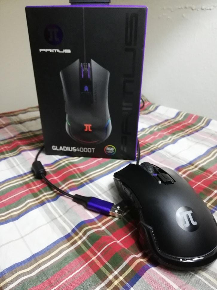 Mouse Primus Gaming Gladius 4000T Review, 2,GamersRD