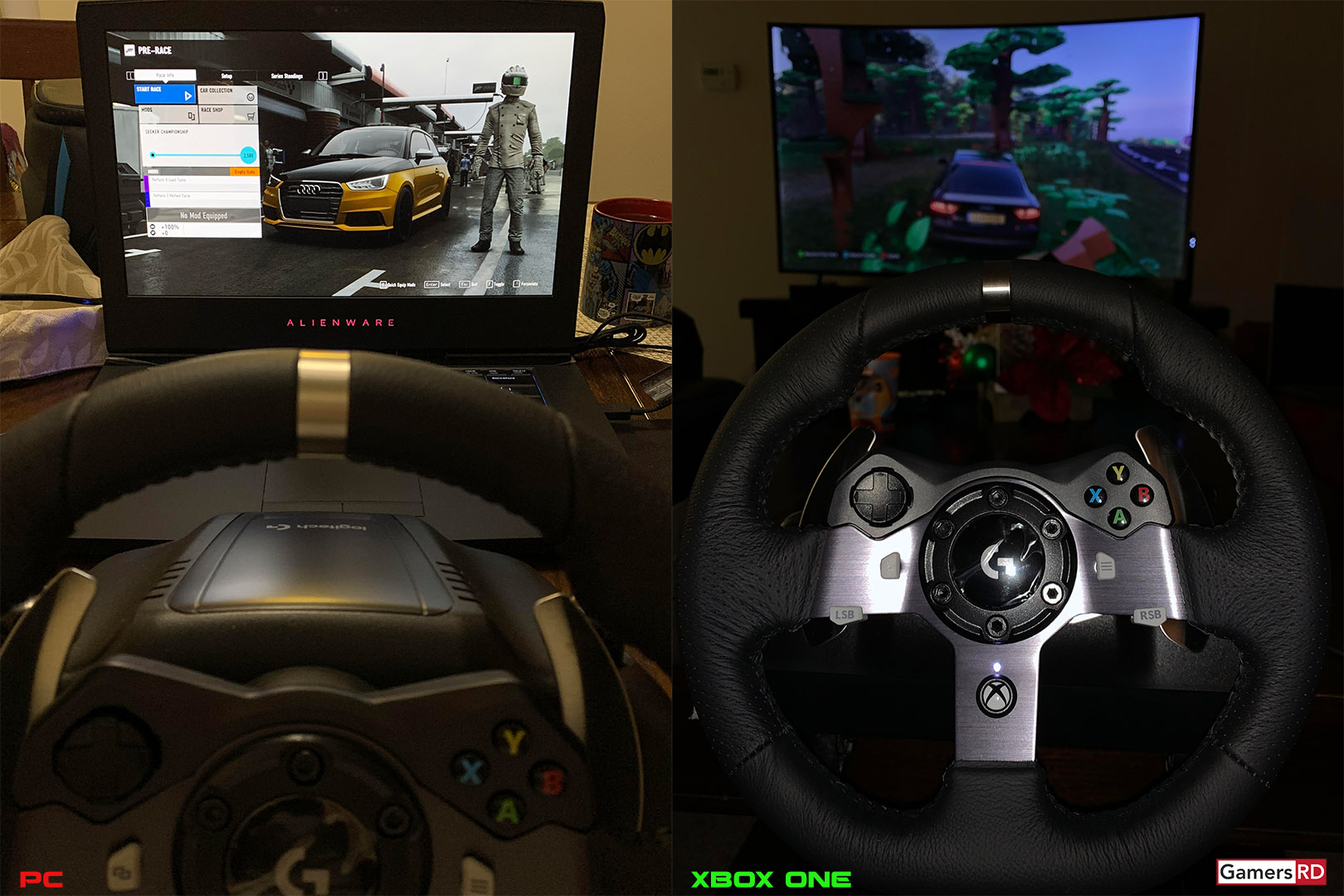Logitech G920 Driving Force Racing Wheel Review, 6 GamerSRD