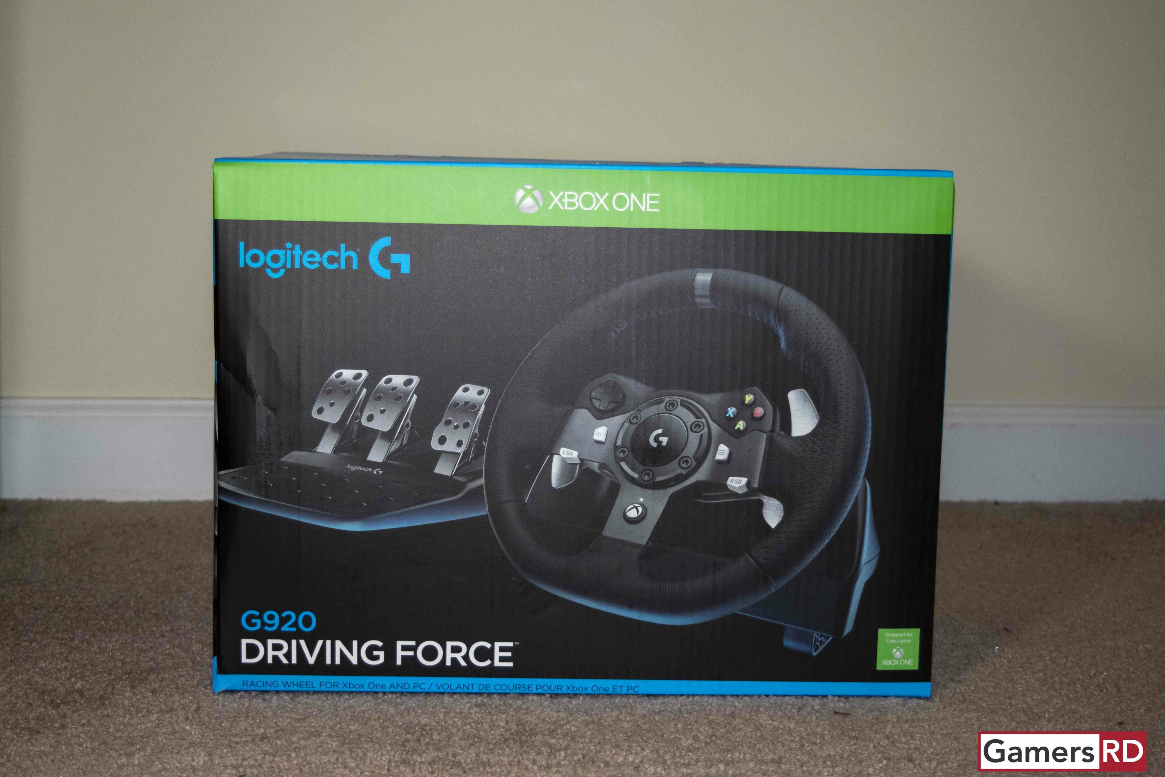 Logitech G920 Driving Force Racing Wheel Review, GamerSRD