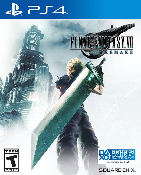 Final Fantasy VII Remake solo será exclusivo hasta marzo 2021