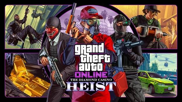 Golpe al casino The Diamond, GTA Online, GamerSRD