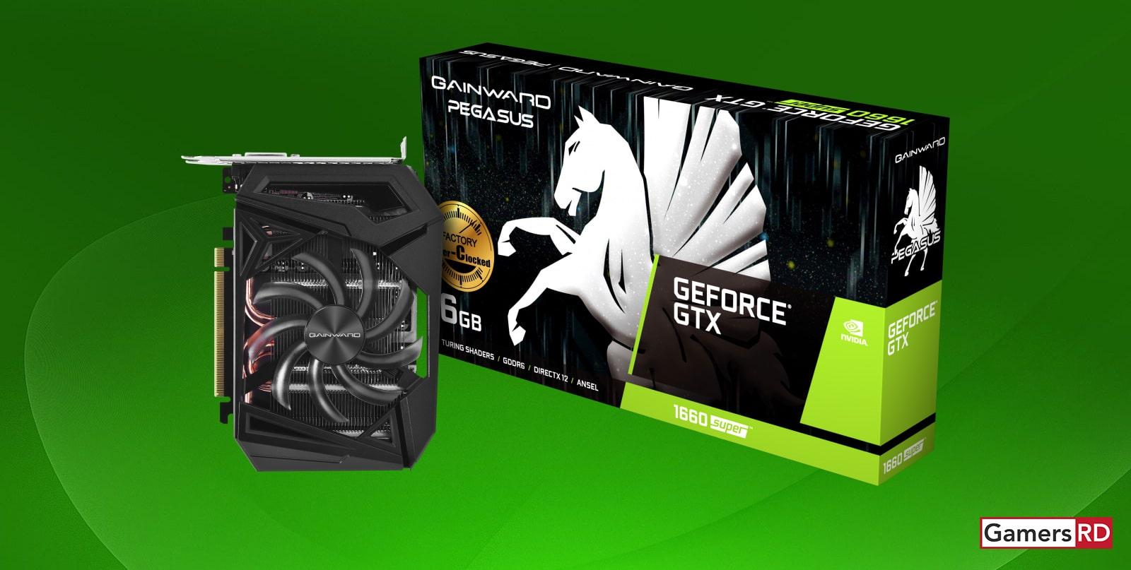 NVIDIA GeForce GTX 1660 Super Gainward Pegasus Review, GPU GamersRD
