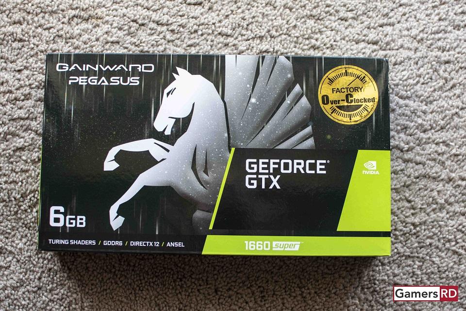 NVIDIA GeForce GTX 1660 Super Gainward Pegasus Review, GamersRD