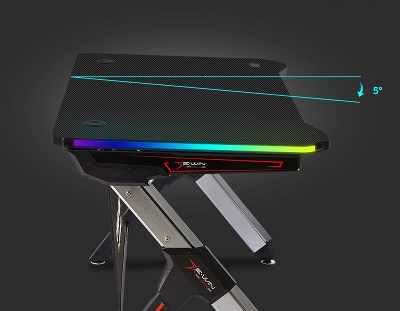 E-WIN 2.0 Edition RGB Gaming Desk Review, 1,GamersRD