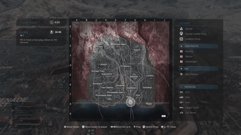 Se filtra el mapa completo de Battle Royale Call of Duty: Warzone