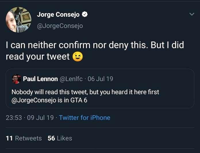 Jorge Consejo- CV- GTA 6, Twitt, GamersRD