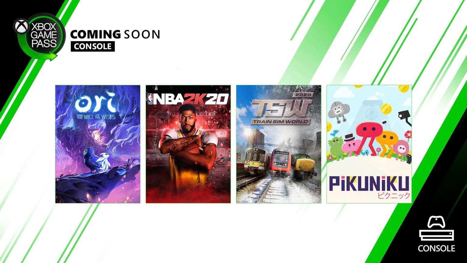 Anunciados nuevos juegos para el Xbox Game Pass