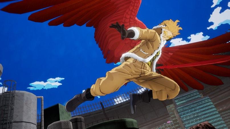 Hawks se unirá a la lista de personajes de My Hero Ones Justice 2, 1,GamersRD