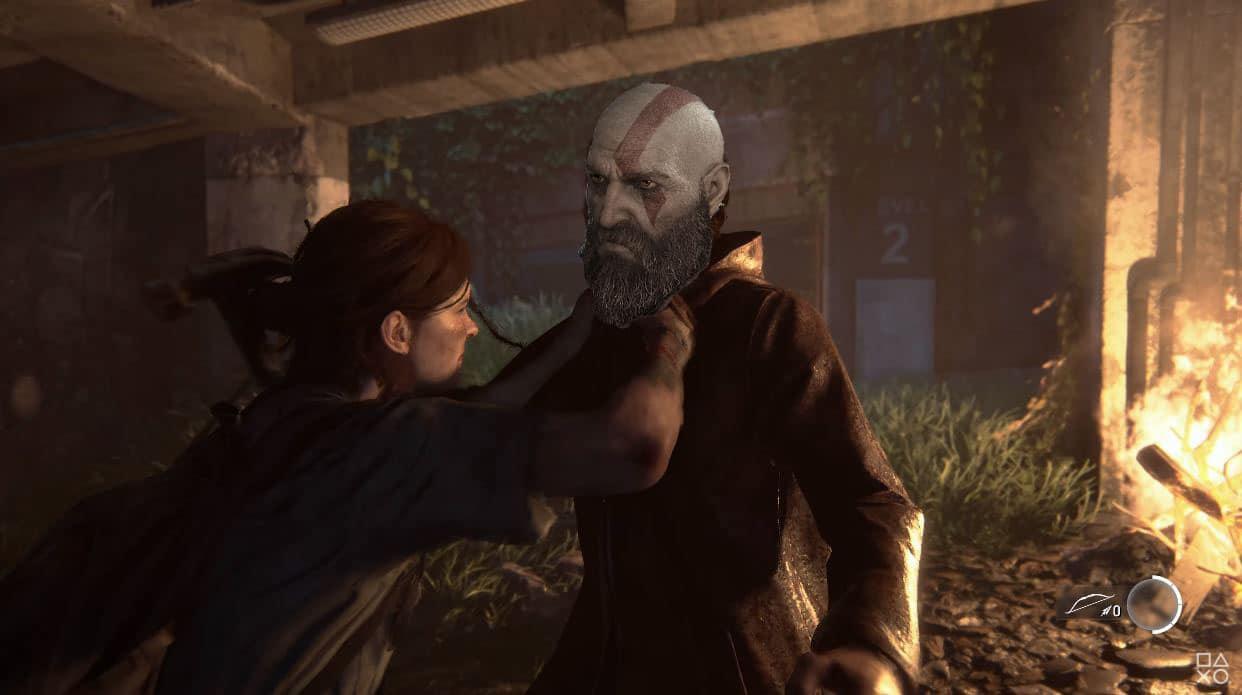 Ellie-The-Last-of-Us-Part-II-GamersRD Kratos