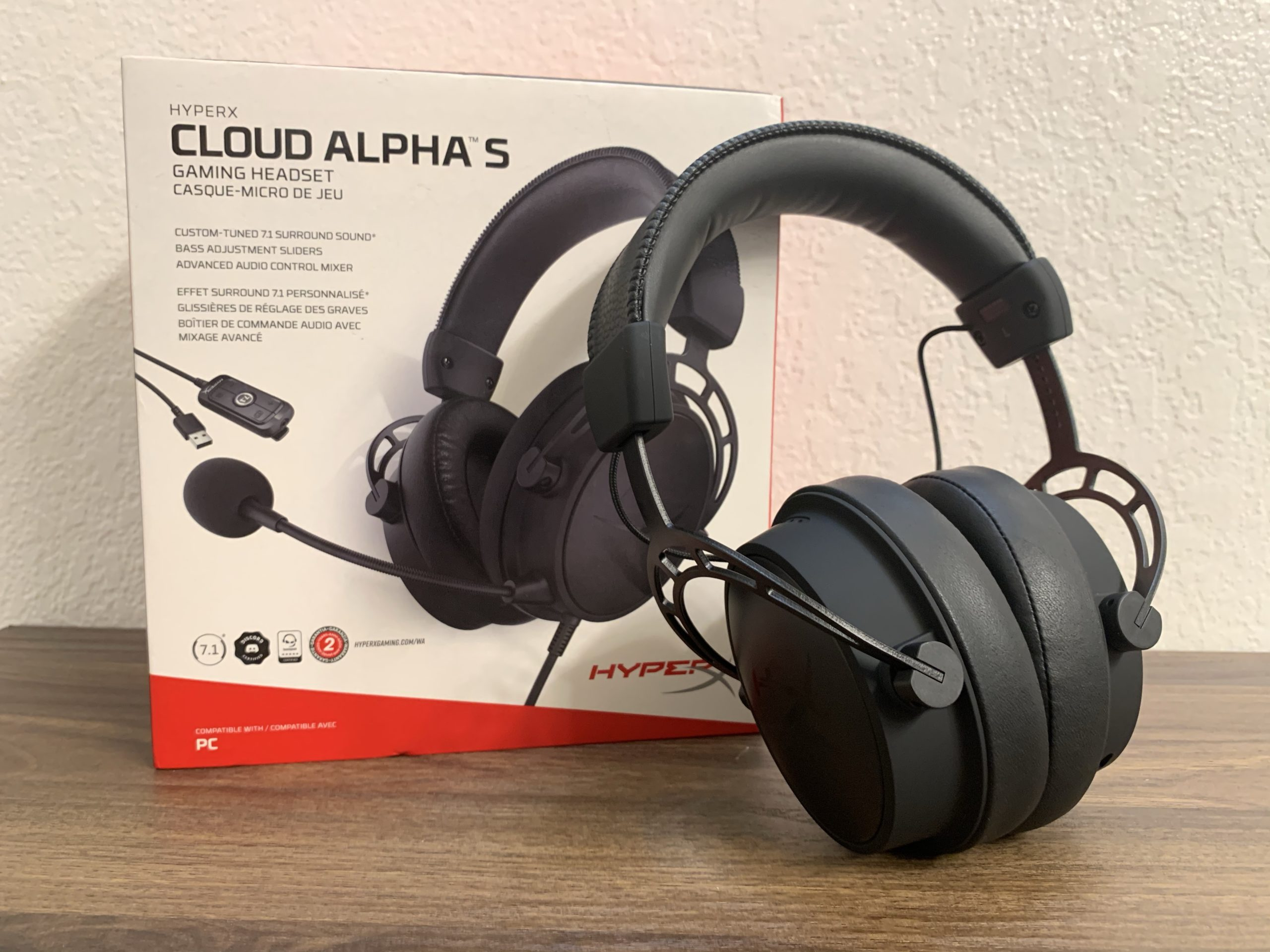 HyperX Cloud Alpha S Blackout Gaming Headset Review GamersRD 1