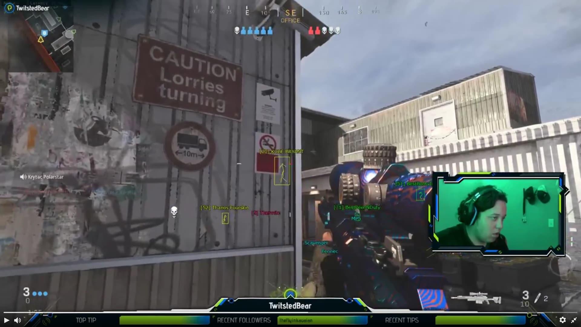Streamer de Twitch es baneado por usar hacks en Modern Warfare22