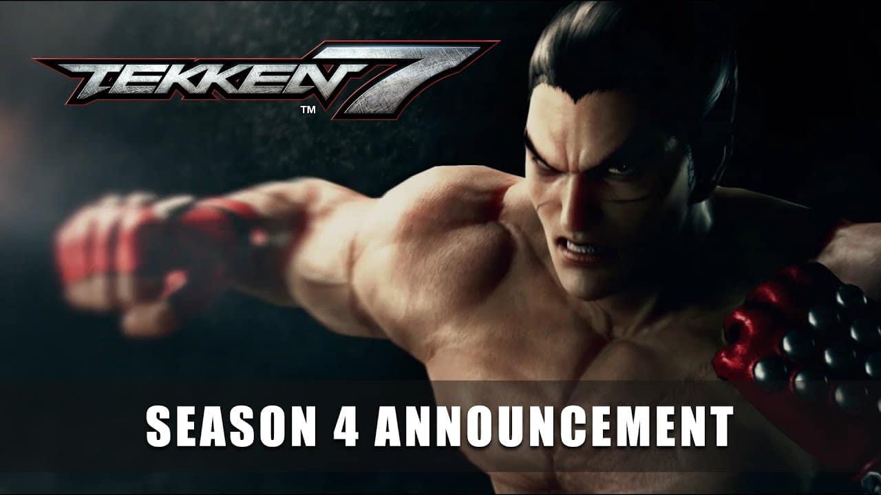 Temporada 4 de Tekken 7 es anunciada de manera oficial