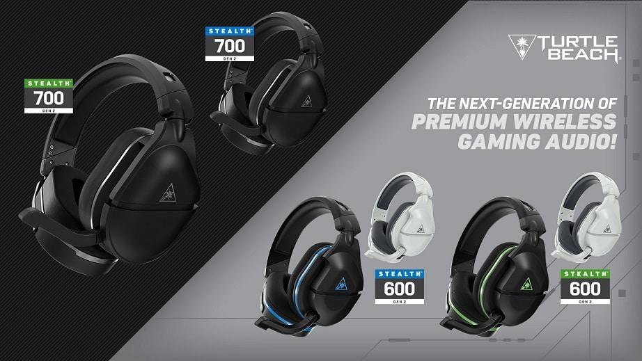 Turtle Beach lanza los nuevos headsets Stealth 600 y Stealth 700 de segunda generación , GamersRD