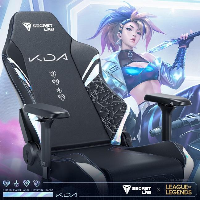Secretlab League of Legends K_DA ALL OUT Edition_1, GamersRD