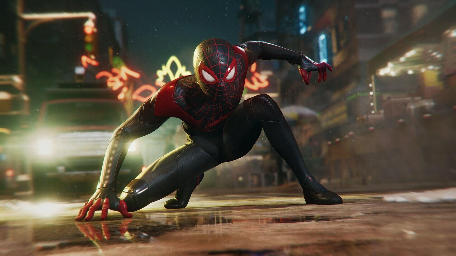 SpiderMan: Miles Morales en PS4 y PS5 se ha vuelto dorado
