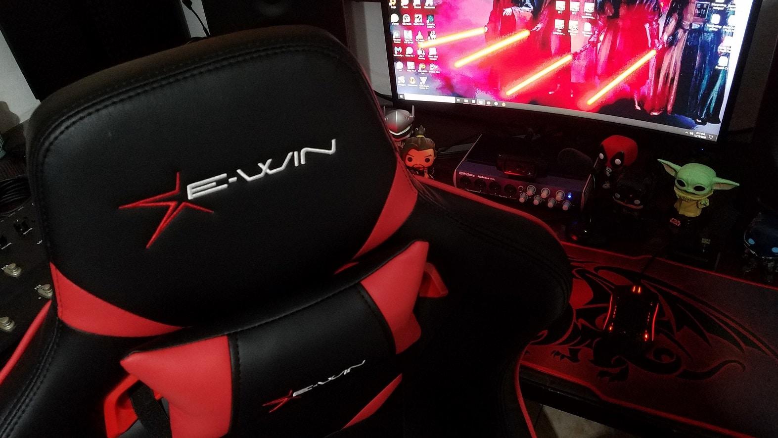 Ewin Racing Gaming Chair Flash XL FLB Review, GamersRD