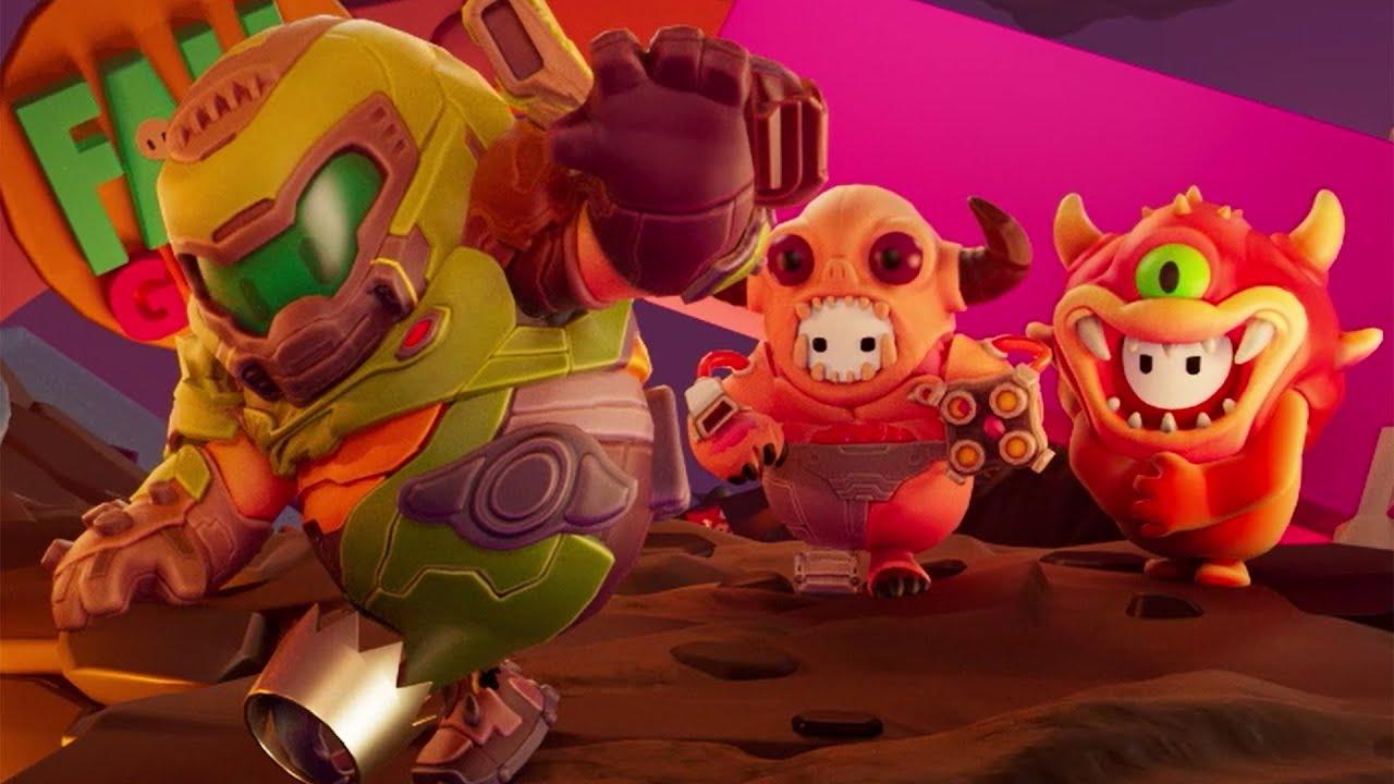 Fall Guys Doom Costumes - GamersRD