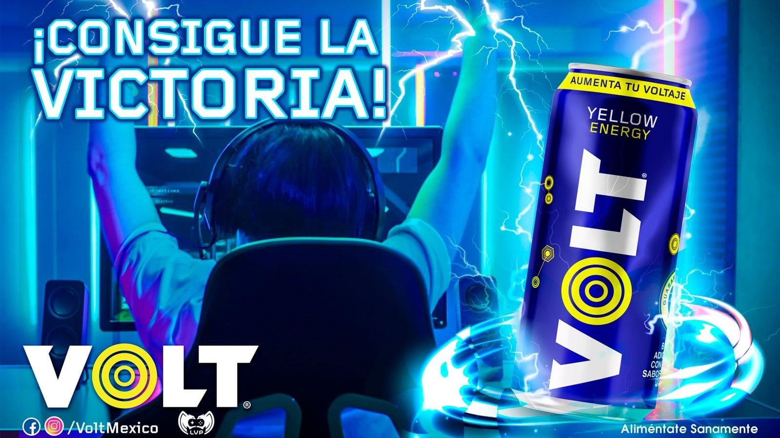 VOLT ENERGY DRINK es la bebida oficial de LLA y la comunidad League of Legends de 2021, GamersRD