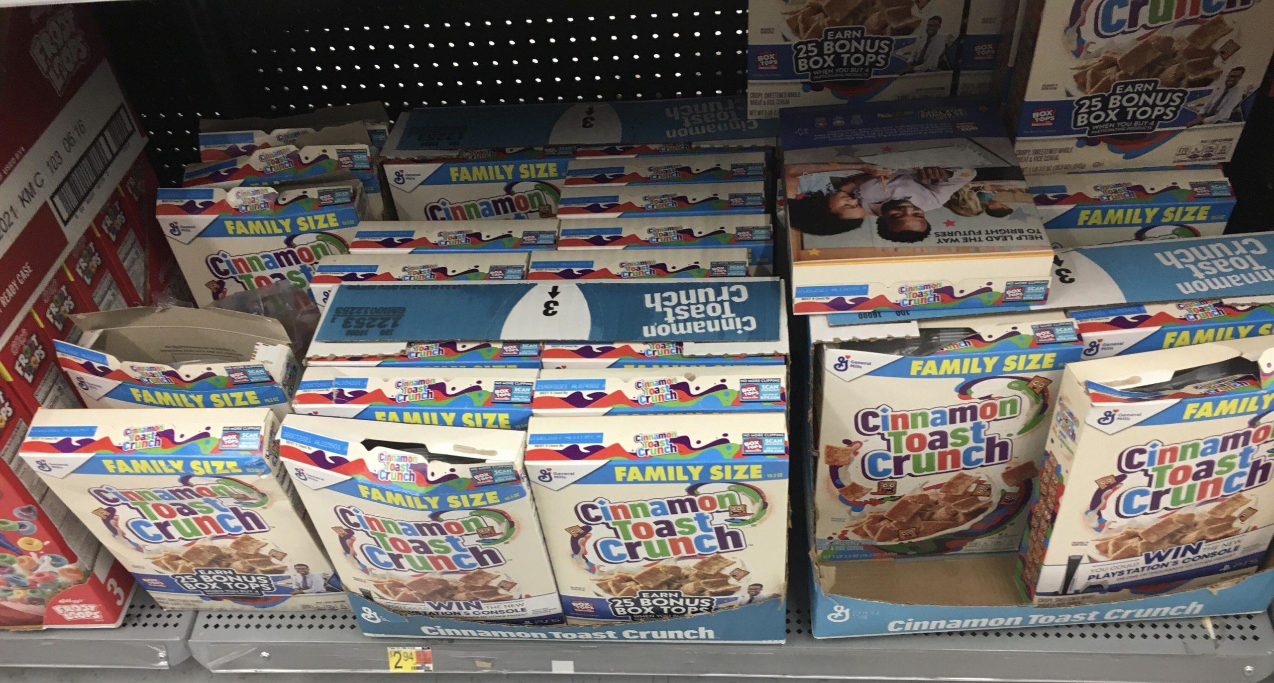 Abren cajas de cereales en tiendas para obtener PlayStation 5 como premio