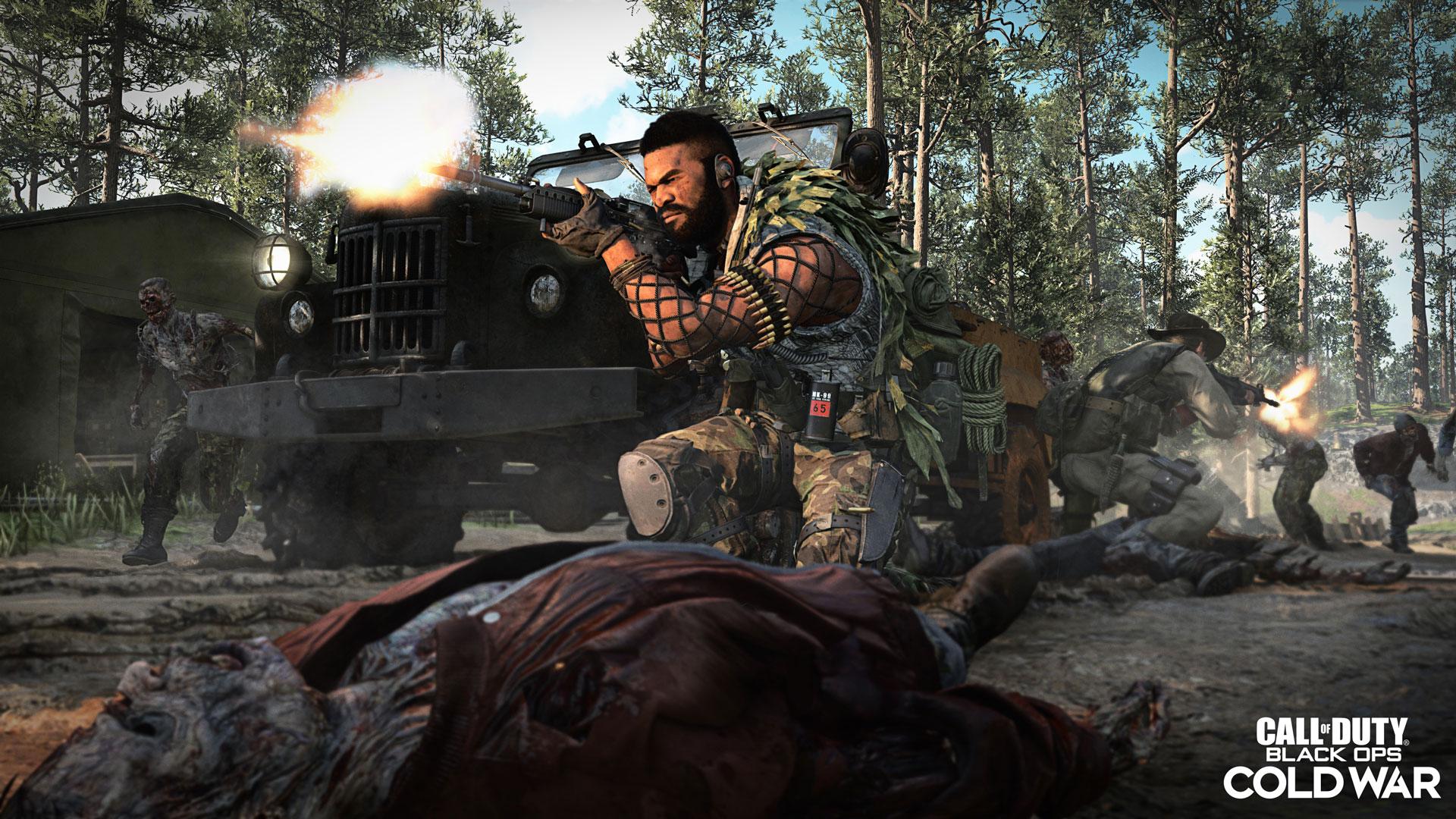 Activision presenta el nuevo modo Outbreak Zombies para Black Ops Cold War , GamersRD
