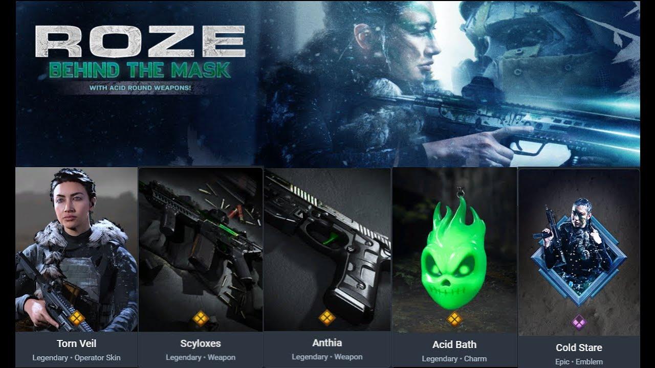 Roze, Call of Duty, Modern Warfare, Pack, GamersRD