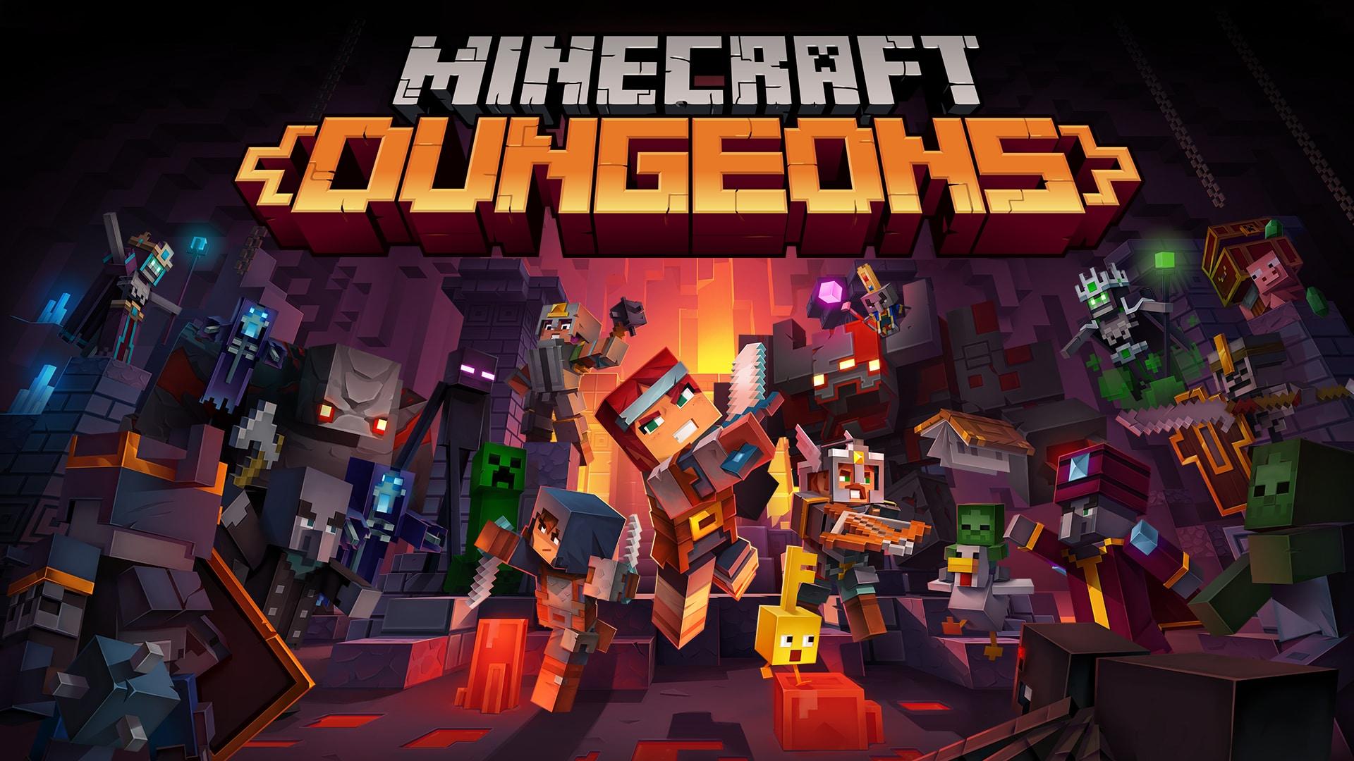 Minecraft Dungeons ya está disponible en Steam, GamersRD