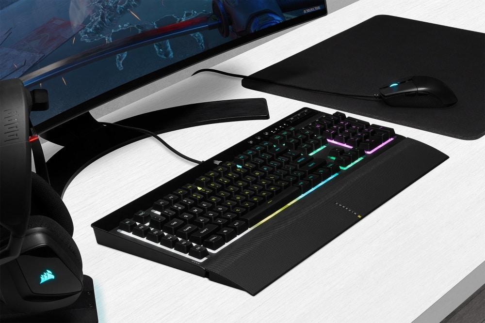 CORSAIR presenta los teclados para juegos K55 RGB PRO y K55 RGB PRO XT, GamersRD