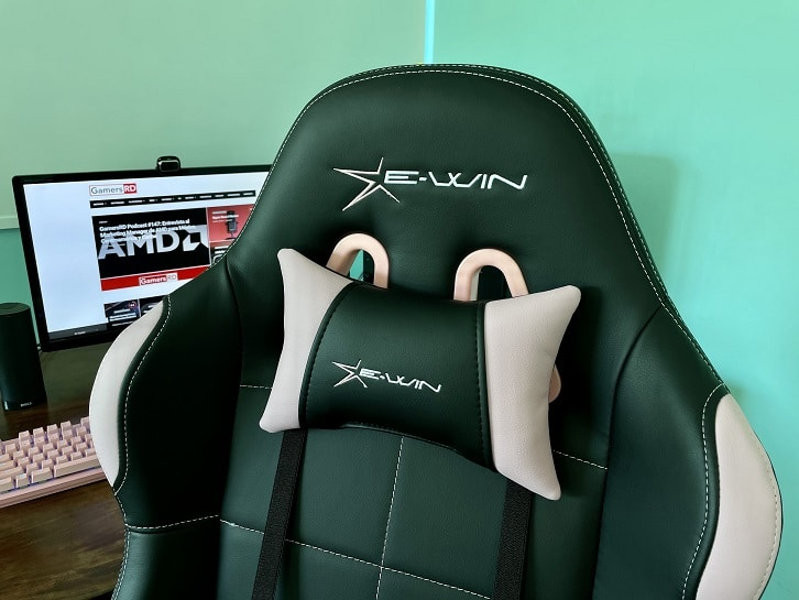 E-Win Racing Calling Series Pink Gaming Chair CLD Review, 2 GamersRD